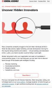 B2B Marketing Email